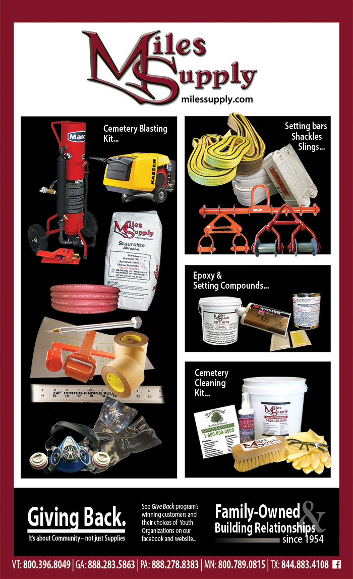 Cemetery Clean Up Supplies