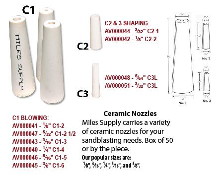 Ceramic Nozzles