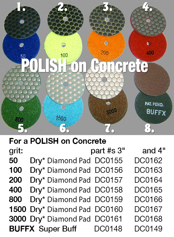 polish concrete